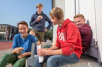 Schüler im Ganztagesbetrieb