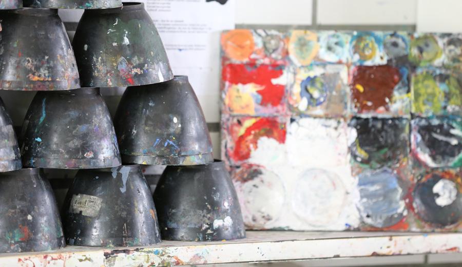 Arbeitsmaterialien für den Kunstunterricht am Gymnasium Hochrad