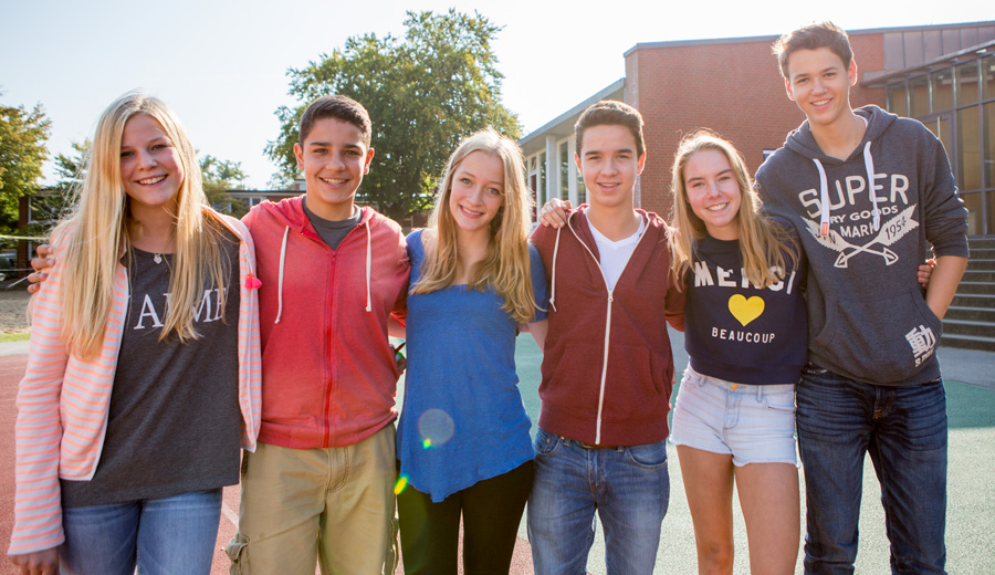 Austauschschüler am Gymnasium Hochrad