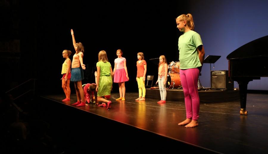Drama Unterricht am Gymnasium Hochrad