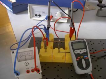 Analoge und digitale Messgeräte stehen für die grundlegenden Messungen bereit